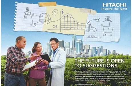 Hitachi Launches New Global Brand Campaign; To Use A Combination Of ATL & BTL For Amplification