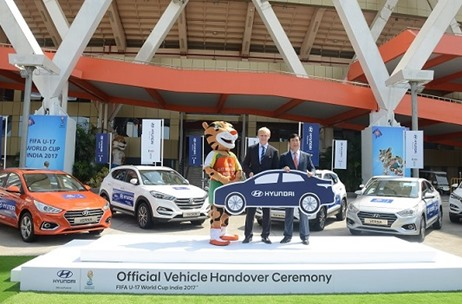 Hyundai Motors Joins Hands with FIFA U17 World Cup Tournament as Official Partner