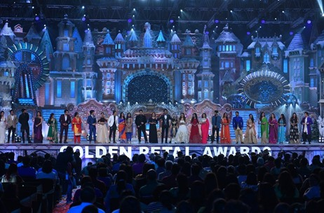 Colors Golden Petal Awards 2017 Produced by Cineyug Witnesses a 'Snow Wonderland' Theme