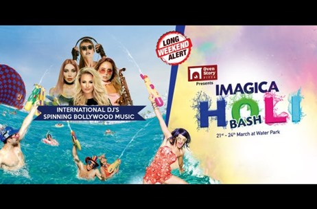 Imagica to Host Holi Bash Featuring International DJ's and Holi Special Delicacies
