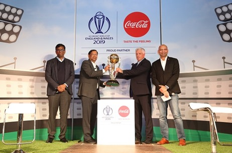 ICC and COCA-COLA Team-Up To Celebrate Cricket with a Five-Year Global Partnership