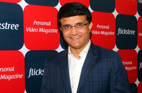 Sourav Ganguly & Moksh Sports Ventures Invest in Mumbai Start-up Flickstree