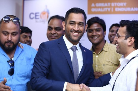 Gulf Oil India Gets Dhoni to Inspire Teams on CEO D Day