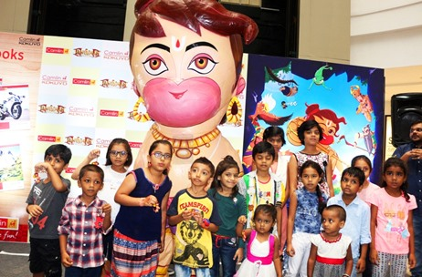 Kokuyo Camlin Engages Kids in Mumbai Taking Forward Association with Film Hanuman Da' Damdaar