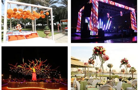 From Pool Party to Dancing Under the Stars, Wedniksha Ensured This Dubai Wedding Had it All!