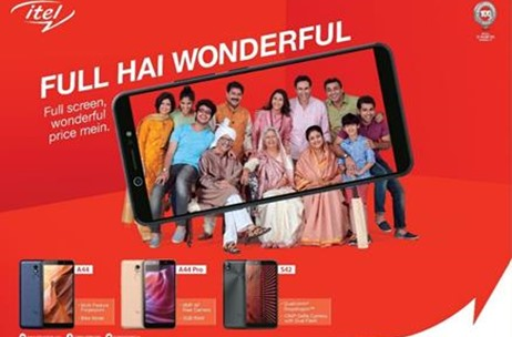itel Unveils New Campaign #FullHaiWonderful For Indians Who Always Want Full