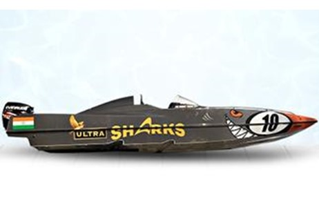Kingfisher Ultra's Team Ultra Sharks to Participate in the NEXA P1 Powerboat