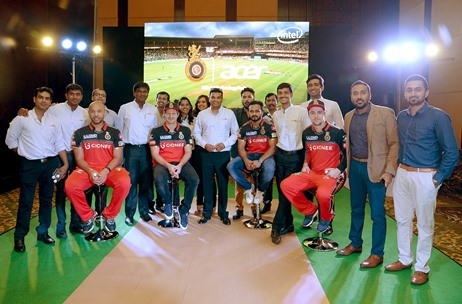 Acer & Royal Challengers Bangalore Team Up for a Thrilling Match of Mini Cricket