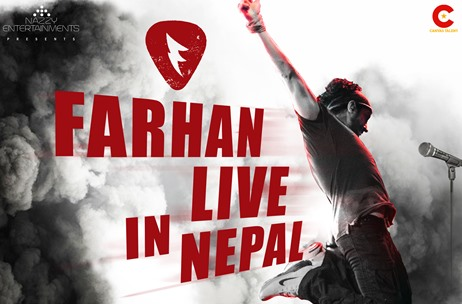 Canvas Talent Brings Farhan LIVE to Nepal