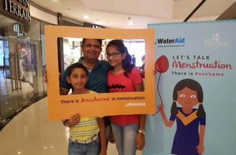 White Salt Delivers #NoShame Campaign For WaterAid India