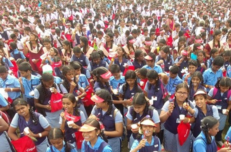 Over 23000 People Come Together to Set a New Asia Record to Increase Oral Health Awareness
