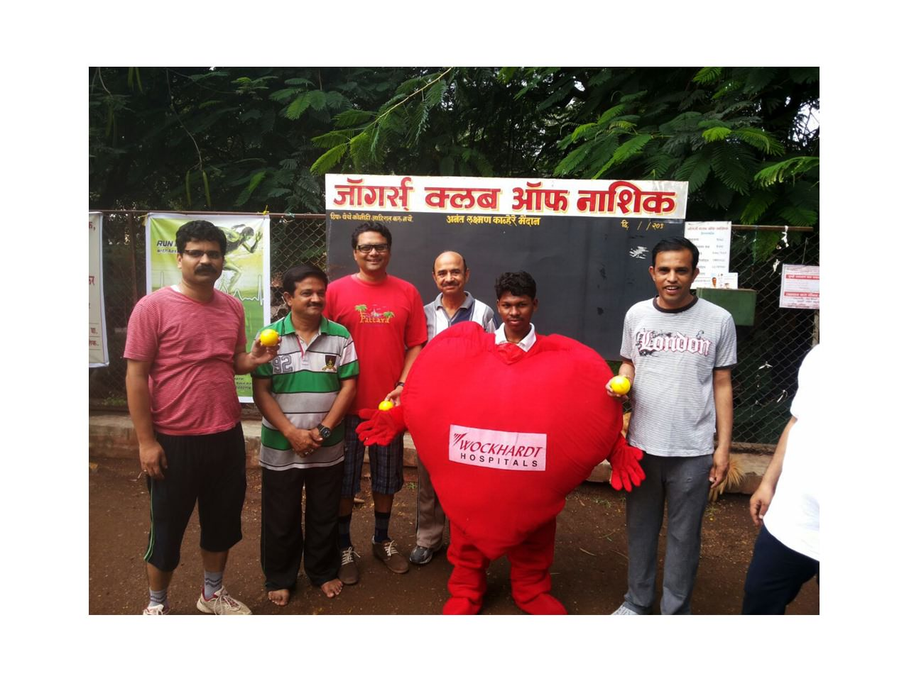 Healthy heart promoted among joggers and morning walkers for Wockhardt World Heart Day