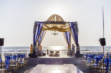 A Spectacular Beach Wedding in Goa by A More Entertainment