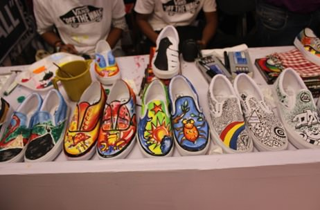 Vans India gets visitors to create their own shoes with a DIY station
