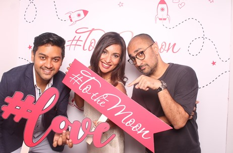Toast Events Launches a Rocket #ToTheMoon for Miss Malini