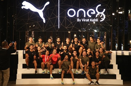 Virat Kohli Raises a Toast with PUMA for the Launch of His Brand One8