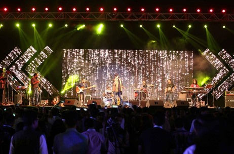 Mohit Chauhan and Neha Kakkar Enthrall an Audience of 3500 Plus in Delhi