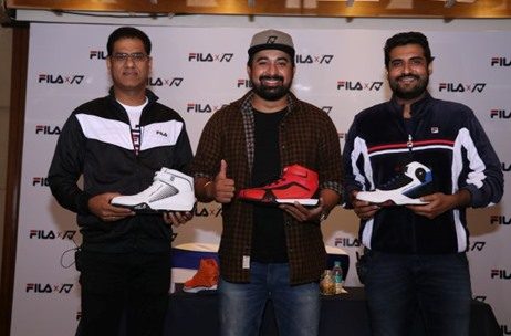 FILA X RV First-Ever Indian Motorsport Collection Launch Curated By Vibgyor