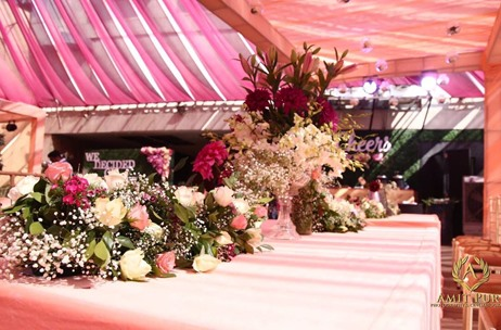 FOR THE LOVE OF PINK - Meerut Sees Elegant Pink Engagement with Pops of Green by Gala Weddings!