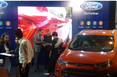 Ford EcoSport Exhibit at Palate Fest: Executed by Vibgyor Brand Services