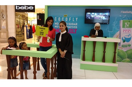 CoCoFly's Sampling Activation By Vibgyor Engages 15K Mall Visitors Across Delhi-NCR