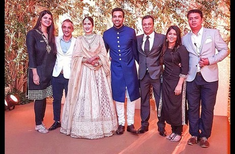 MEW Delivers An Intimate Affair For Sagarika and Zaheer's Wedding Reception