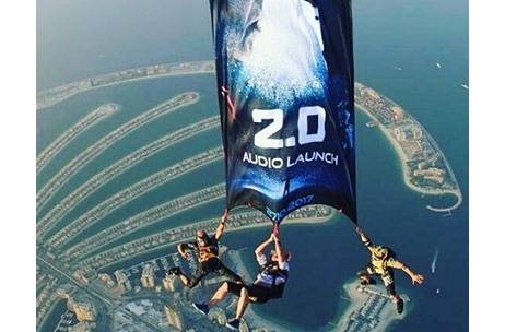 Absolutely Mammoth: Audio Launch of Movie '2.0' by Percept Activ in Dubai