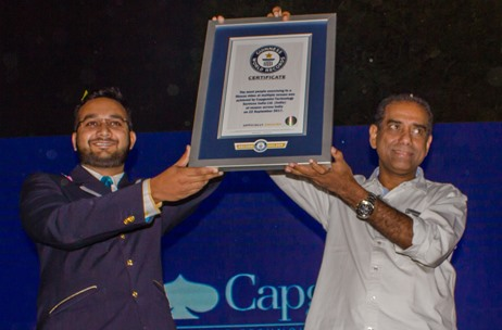 Capgemini Celebrates 50th Year Milestone by Creating a Guinness World Record