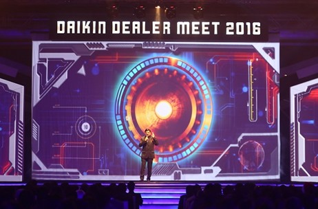Kaleidoscope Events Marries Tech & Creativity to Deliver a Stunning Dealers Meet for Daikin
