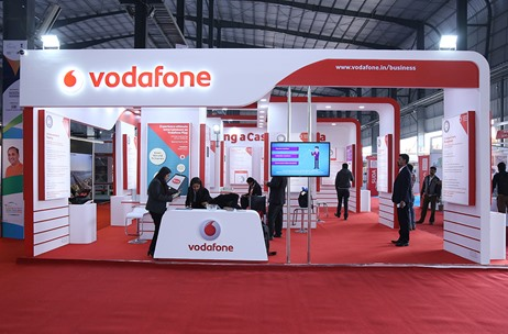 A Smart City Look for Vodafone by Essence Transmedia at Vibrant Gujarat