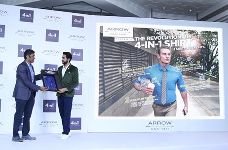 ARROW '4-in-1 Shirt' Launch with Ayushmann Khurrana; Managed by TOAST