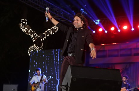 Kickstart Entertainment Manages Kailash Kher Performance at RWITC, Mumbai