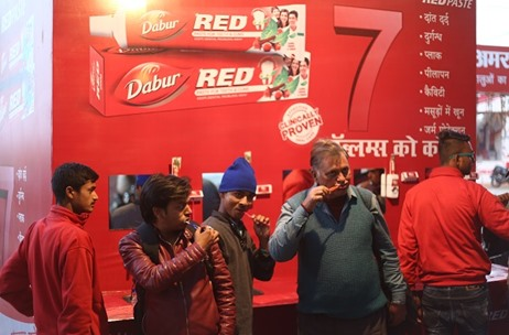 Dabur Red Paste Partners Impact Communication to Engage Devotees at Magh Mela 2018