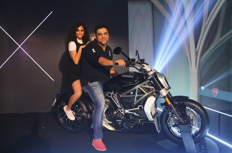 The Think Tank Entertainment Unveils Ducati's Cruiser Bike Segment in Mumbai
