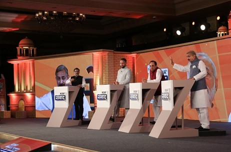 Think XQ Delivers India TV Mega Conclave - Samvaad 2017