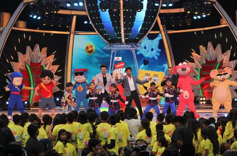Cineyug Meshes Bollywood's Best with Nickelodeon Acts at the Kids Choice Awards