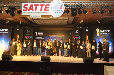 Real Show Produces the Stunning SATTE Awards 2017 at Le Meridien Delhi