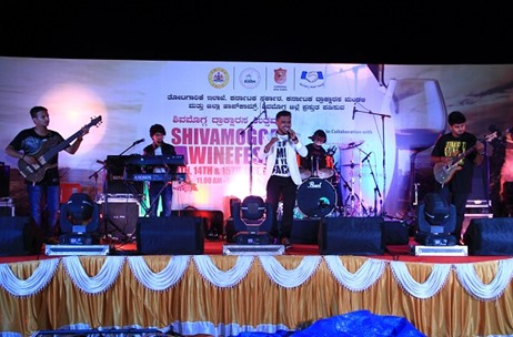 Senses Creations Executes the Shivamogga Wine Festival 2017 for Karnataka Wine Board