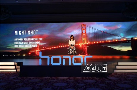 Salt Doubles the Action with Honor 8 Launch