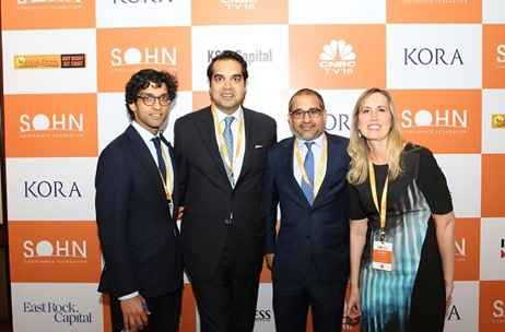 70EMG Delivers the Indian Edition of World-renowned SOHN Investment Conference in Mumbai