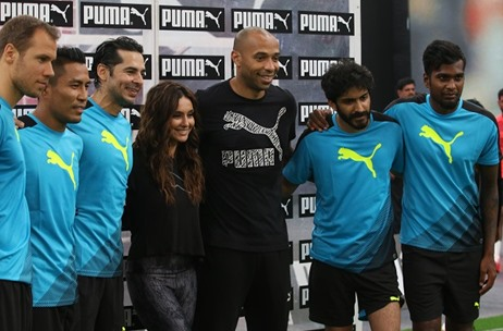 Toast Manages Legendary Football Player Thierry Henry's Visit to India for PUMA