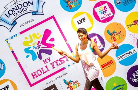 Optimal X Keeps Mumbaikars High on Dry 'My Holi Fest' at Khar Gymkhana