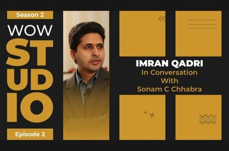 Imran Qadri, Harley Davidson in Conversation with Sonam C Chhabra at the WOW Studio