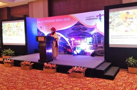 Indonesian Ministry of Tourism on a Sales Mission in Indian Tourism Market