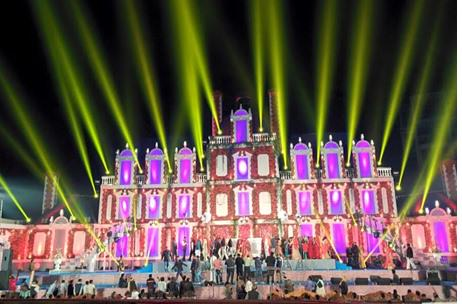 Gigantic Wedding in Jhansi by Invision Sees 40000 Guests!