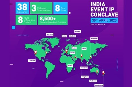 India Event IP Conclave Digital Edition Sets New Benchmark Reaching 8500+ Global Event Professionals