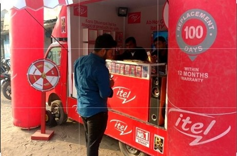 Real Show Wins Mandate to Execute Month-long BTL Activation for Itel Mobiles in Entire Bihar Zone