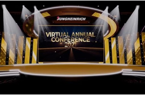 Gravity Concepts Curates Jungheinrich Virtual Annual Conference 2021