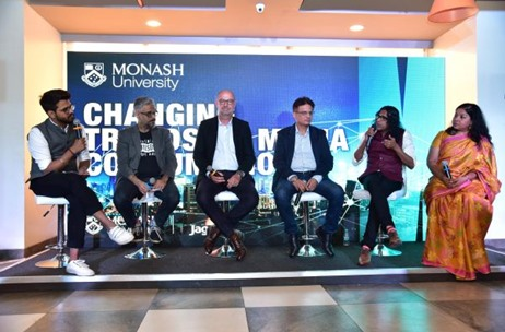 Jagran Solutions Executed Panel Discussion Conducted by Monash University for Media Students