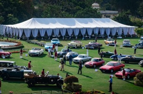 70 EMG and Jaipur Roll Out Red Carpet for the Cartier 'Travel With Style' Concours d'Elegance